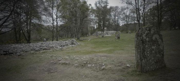 Clava Cairns, Balnuaran, ring cairn, passage cairn