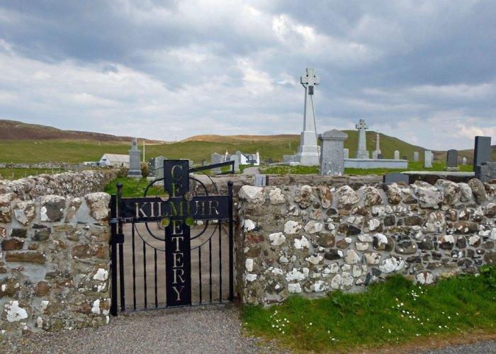 Kilmuir Cemetery, Skye, Flora MacDonald