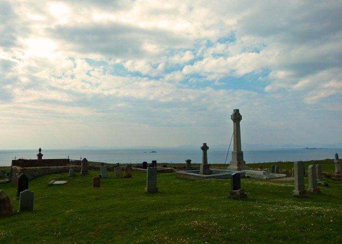 Flora Macdonald, buried, Kilmuir, Skye