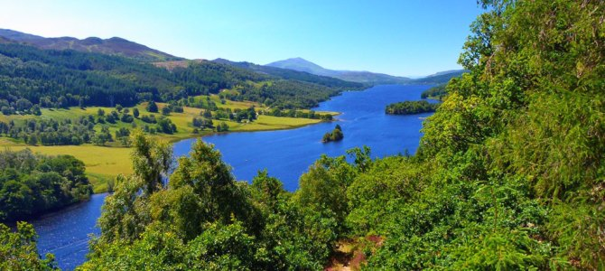 A Queen's View of the Highlands