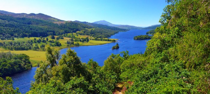 Queen's View, places to visit in the Highlands