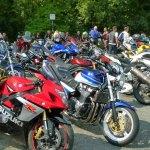 Bikers, Devil's Bridge, Kirkby Lonsdale