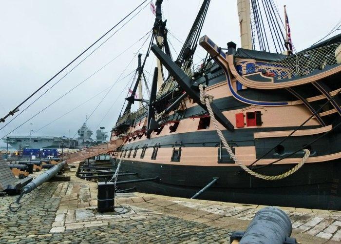 HMS Victory, HMS Queen Elizabeth