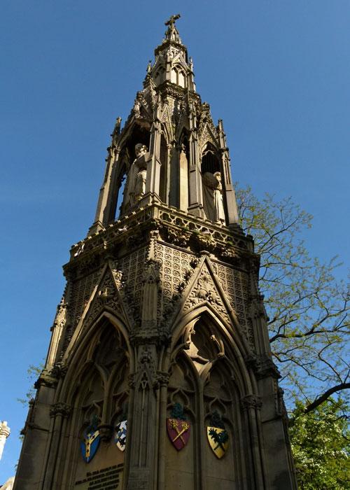 Victorian Memorial, Martyrs, Cranmer, Ridley, Latimer