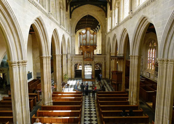 University Church of St Mary, Oxford, Cranmer, Ridley, Latimer