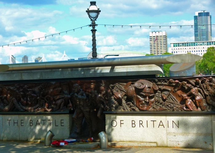 Battle of Britain, Monument, Victoria Embankment, London