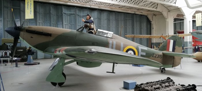 Hawker Hurricane, Battle of Britain, Duxford