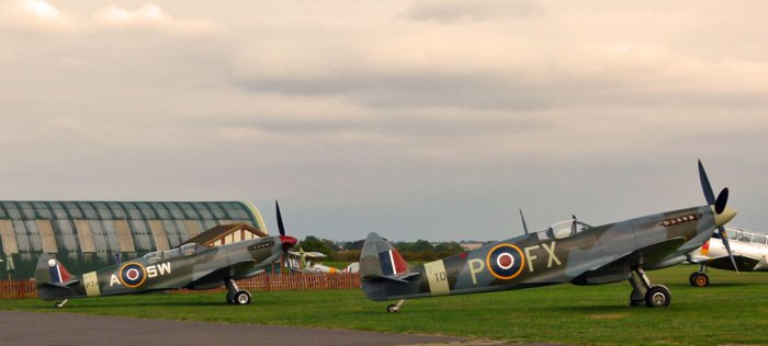 Spitfires, Duxford, Battle of Britain