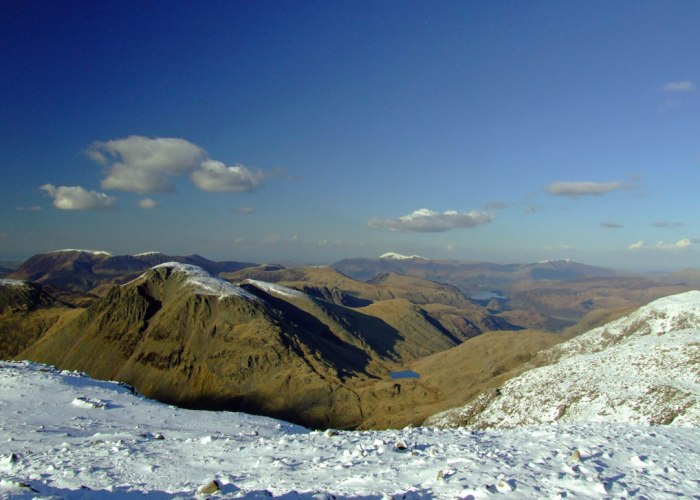 Great Gable, Scafell, Lake District