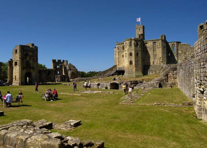 Warkworth, bailey, Lion Tower, Great Tower