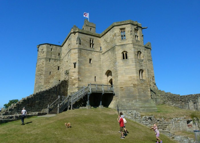 Warkworth, great tower