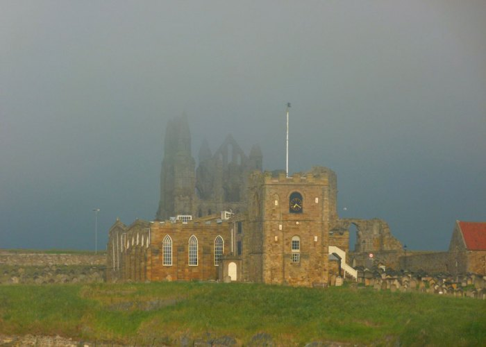 Whitby, sea mist, Dracula