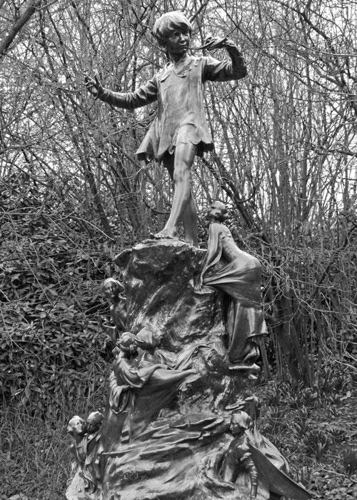 Peter Pan, statue in London