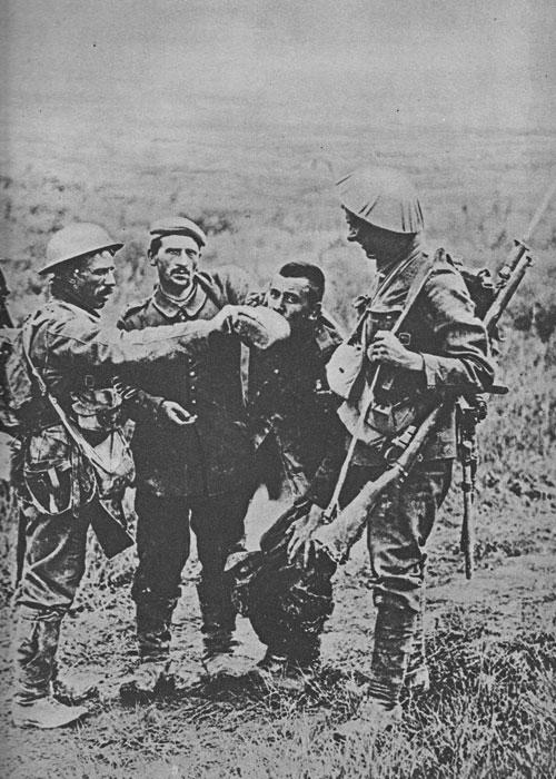 Armistice, prisoners