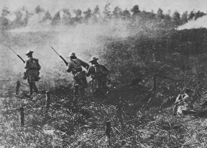 Armistice, fighting continued