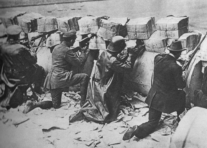 Armistice, revolution, Germany