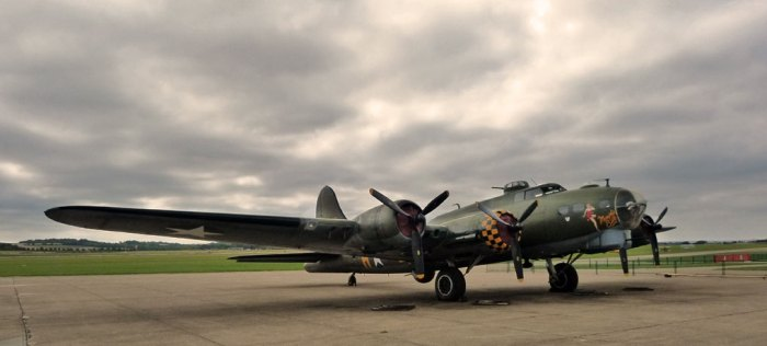 Boeing B-17, Flying Fortress, Sally B, Duxford