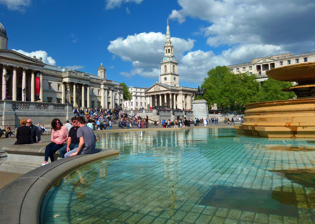 Places to see in London, Trafalgar Square