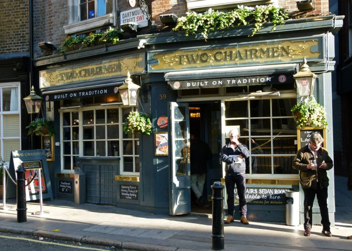Two Chairmen, London pubs, Westminster