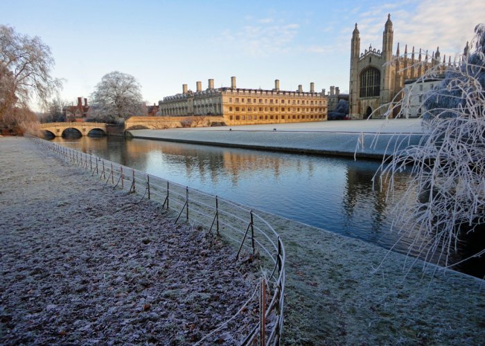 King's College, Cambridge, River Cam