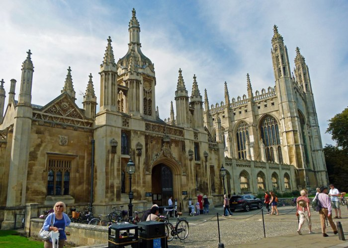 King's College, King's Parade, visit Cambridge