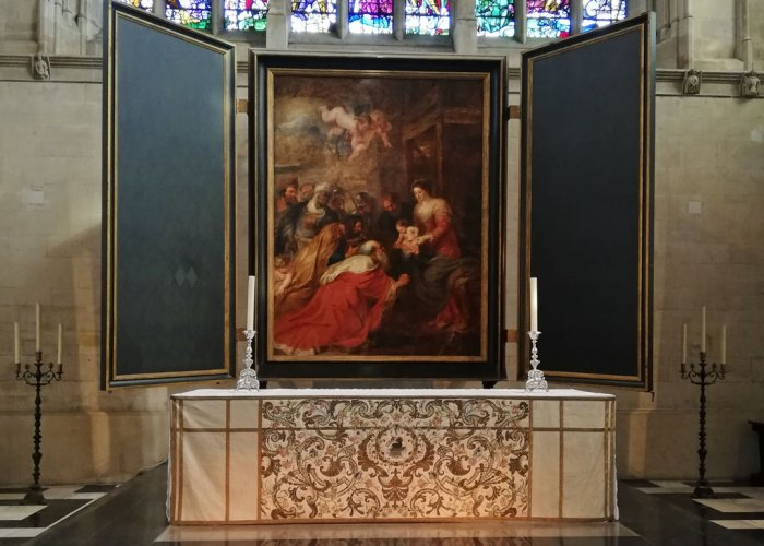 Adoration of the Magi, King's College Chapel, Cambridge