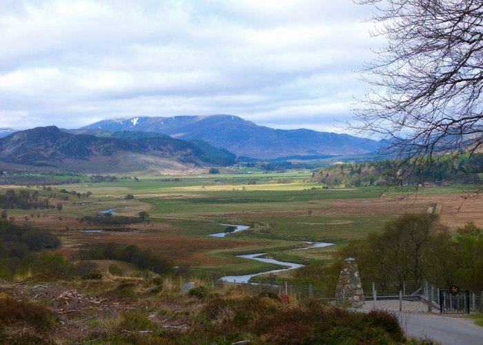 Spey Valley, Centre of Scotland, Highlands of Scotland