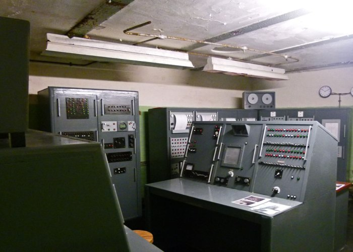 Equipment room, High Down Test Site