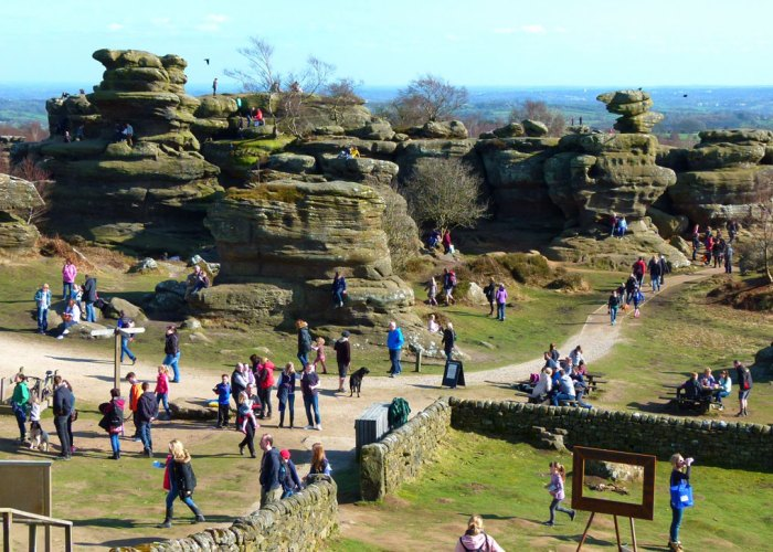 Brimham Rocks, places to visit in Yorkshire