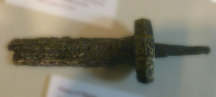 Anglo-Saxon sword, Jewel Tower