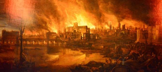 Sifting through the ashes of the Great Fire