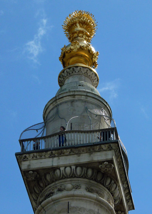 Great Fire of London, Monument