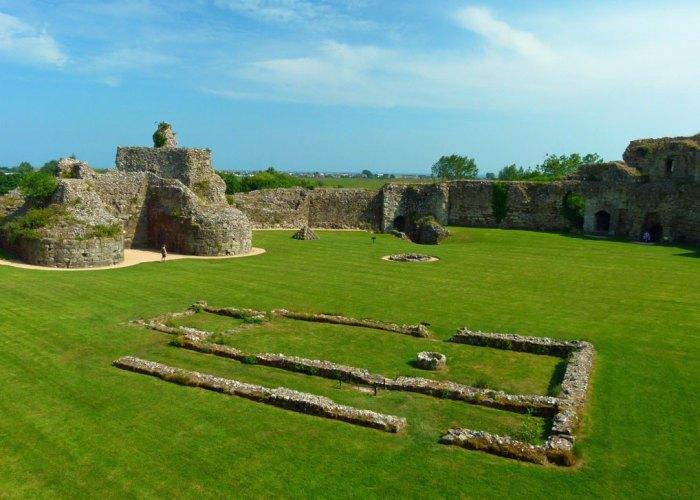 Pevensey Castle, visit Sussex