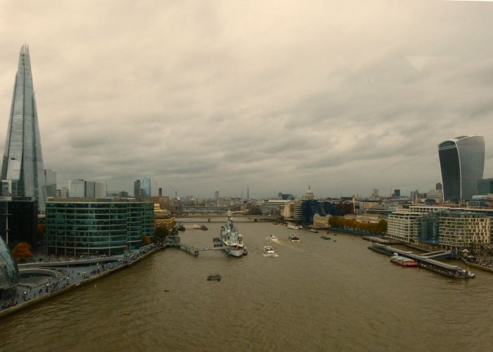 View of London looking west