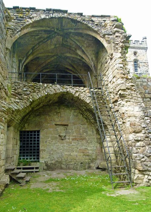 Abbey refectory, Culross