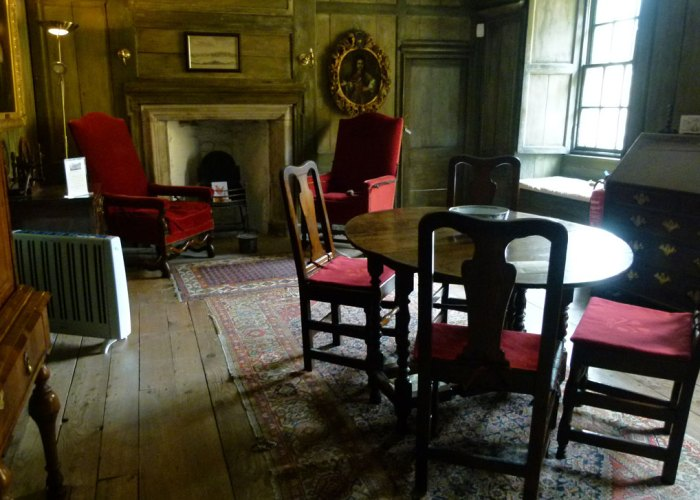 Culross Palace, the withdrawing room