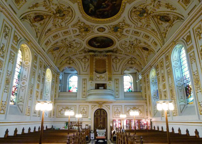 Great Witley, baroque church