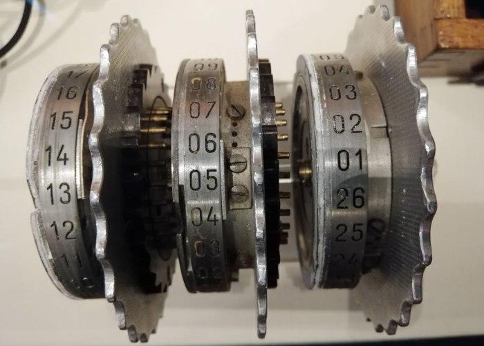 Enigma rotors
