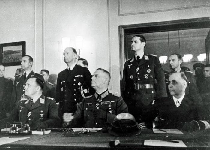 VE Day, German surrender
