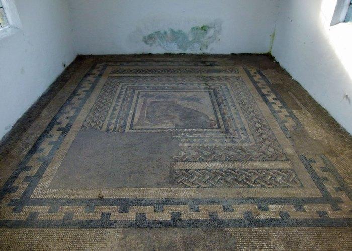 Aldborough Roman mosaic