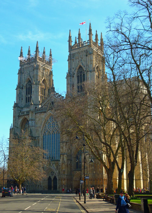 York Minster, A Bit About Britain