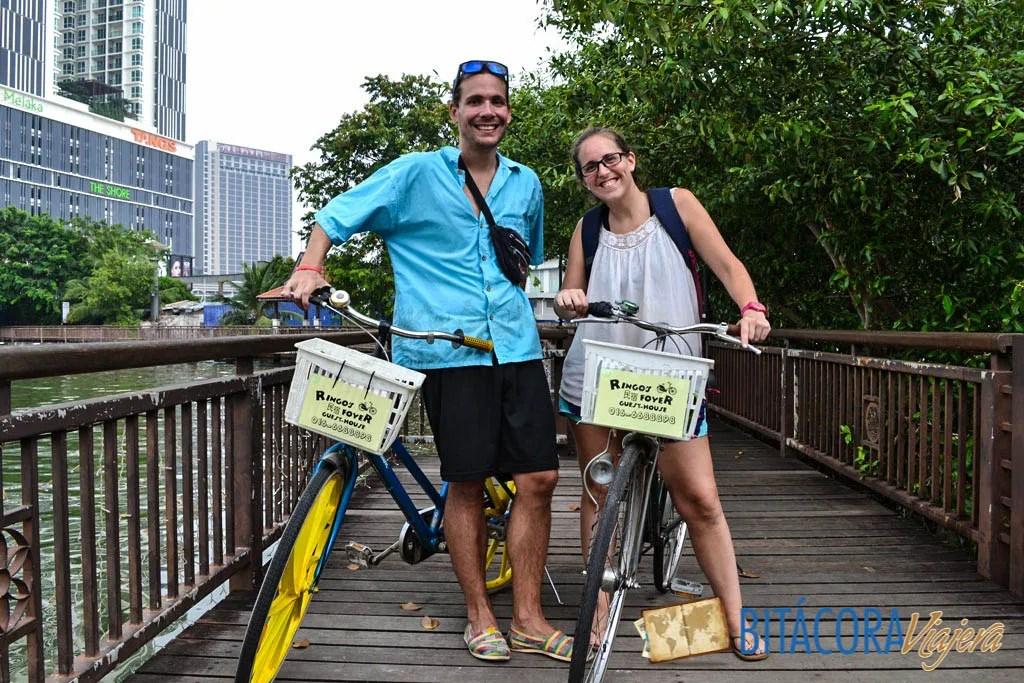 en bici o rickshaw por Melaka (4)