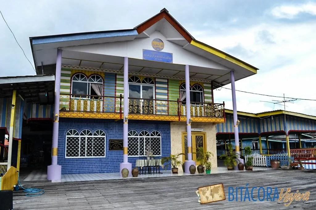 kampong ayer aldea flotante brunei (4)