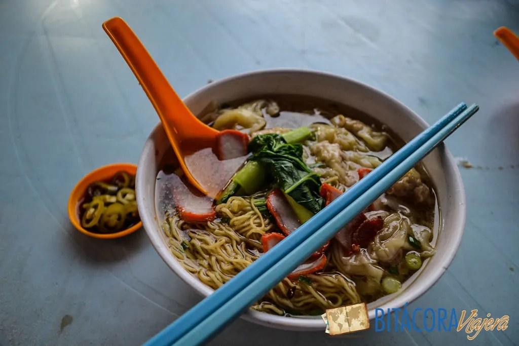 Wantan Mee Soup