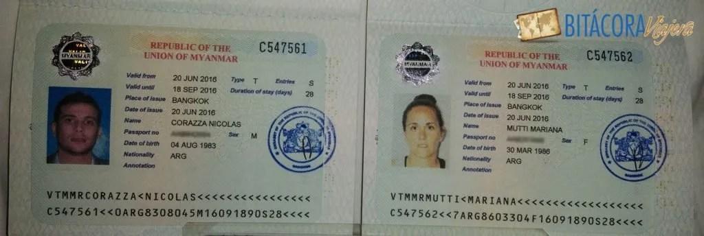 visa myanmar