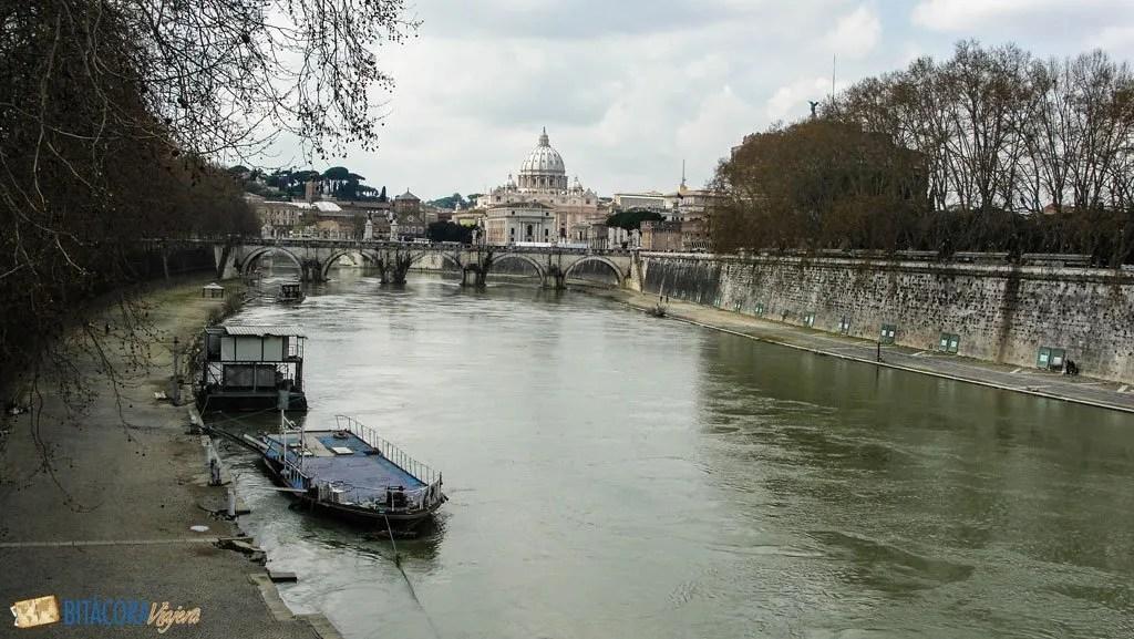 rio tiber roma