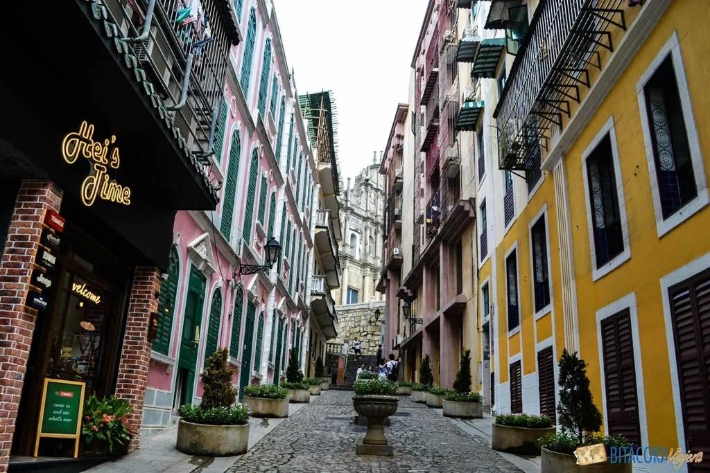 calles de macao