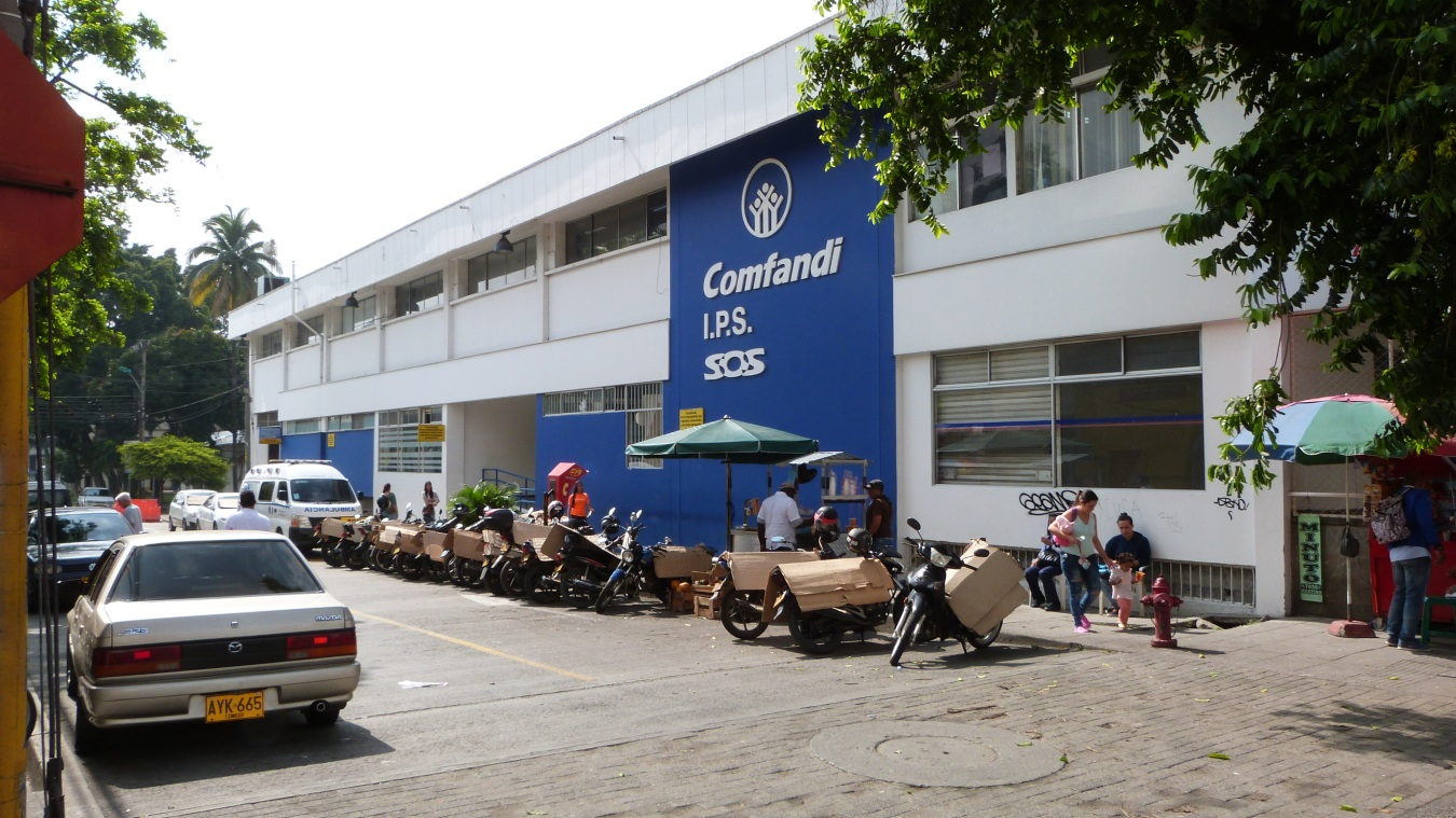 Ampliación Ips Comfandi Alameda
