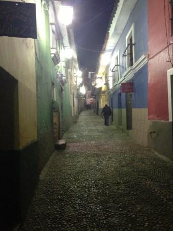 Barrio donde aparecen los fantasmas.