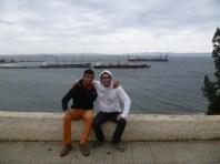 Con Hector.